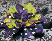 Joker inspired hair clip