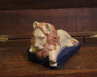 Lion, limited edition hand painted