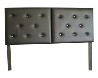 Faux leather headboard  (Queen size)