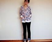 SALE: floral cardigan