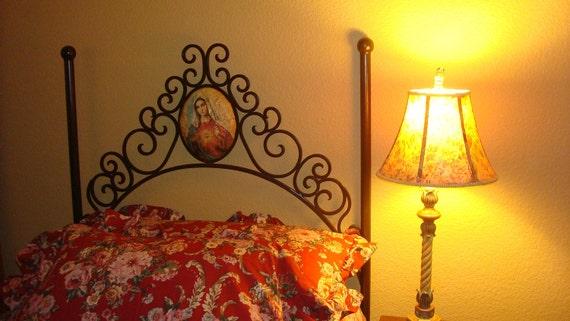 Items Similar To Beautiful Virgin Mary Wrought Iron