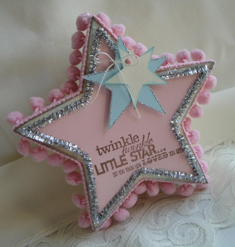 Baby Shower Favor Box Twinkle Twinkle Little Star Gift Box