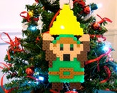 Link Holding Triforce Holiday Ornament