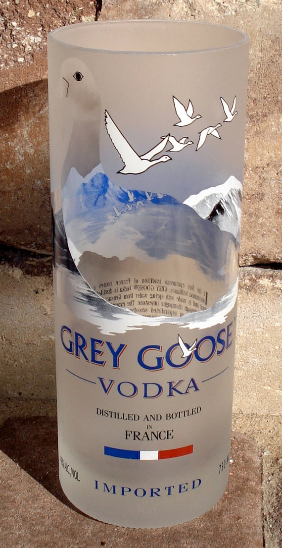Grey Goose Drinking Glass