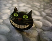 ON SALE Cat with a Grin Ring