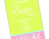 EASTER - Party Invitation Printable, printed also available