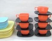 Brookpark Modern Design Melamine Dishes