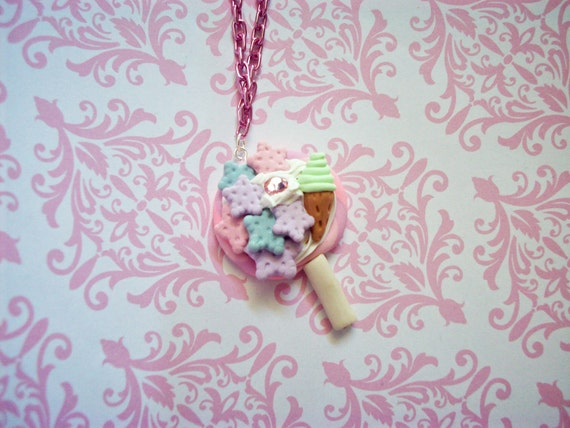 Cute Kawaii Treats Necklace