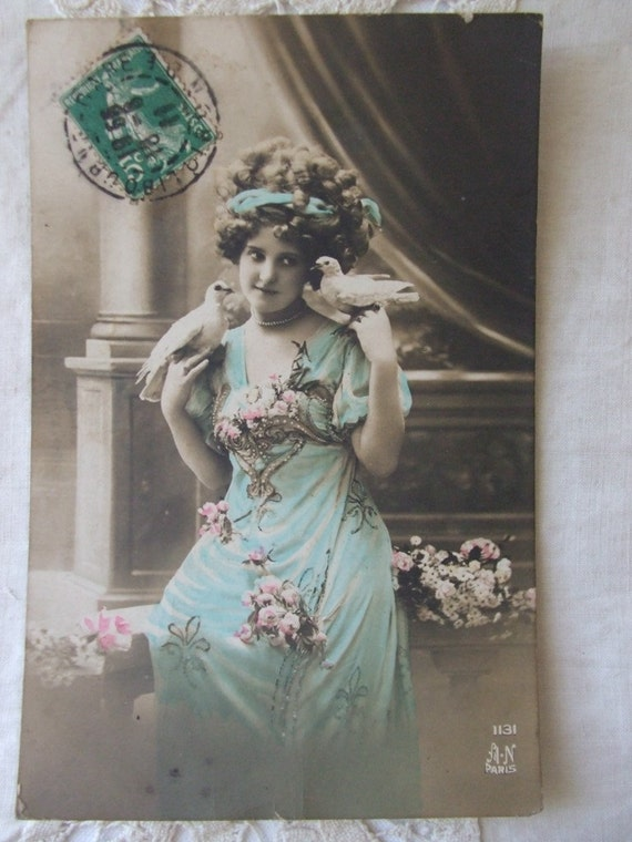 Antique French postcard 1911