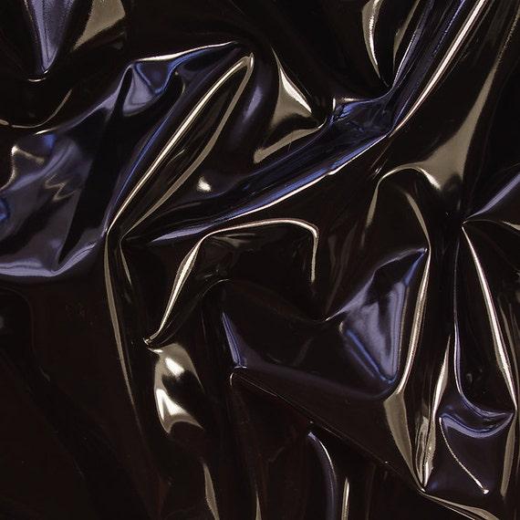 Latex, Black 0,4mm, sheet by the metre