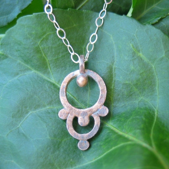 Willa Fine Silver Necklace