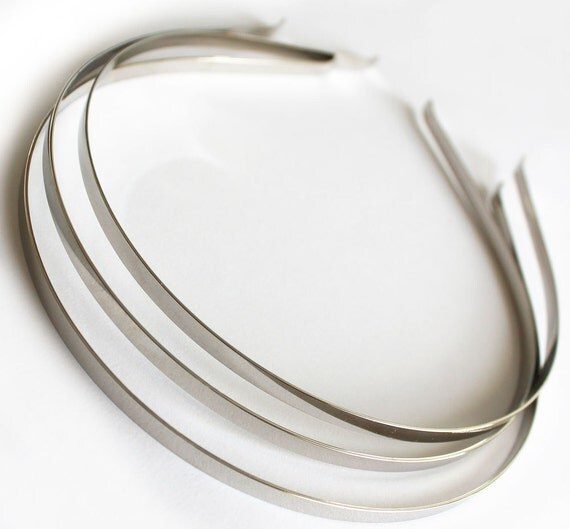 12pcs..5mm(0.20inch or 3/16 inch) Metal(Steel) Headband w/ Bent Ends