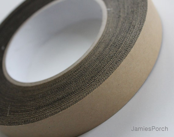 5meter of 24mm(just under 1inch) Black Fabric Tape for jewelry, accessories, stationary(Especially metal headband's End Covering Supply)