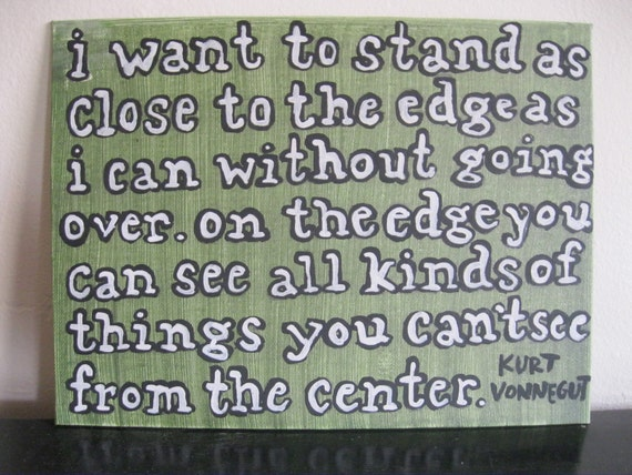 Painted Canvas - Kurt Vonnegut Quote