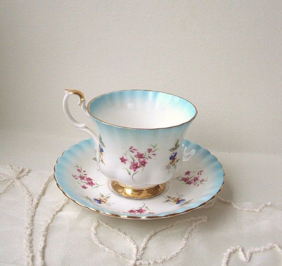 Royal Albert Teacup and saucer bone china made in England