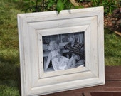 Distressed Wood Frame - Chippy White- 8x10