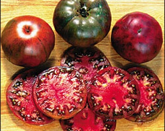 Tomato - Black Krim - Heirloom - Open Pollinated - 25 Seeds