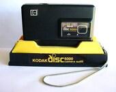 Kodak Disc 6000 Camera 1980s Vintage