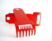 Metal Brush Rake/Cleaner - Fuller Brush Company - Vintage Set of 2 Orange Metal - WLV T