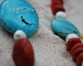 Calypso - Turquoise Necklace RESERVED for mattdog333