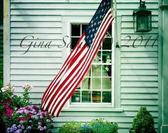 American Flag 11x14 Photograph