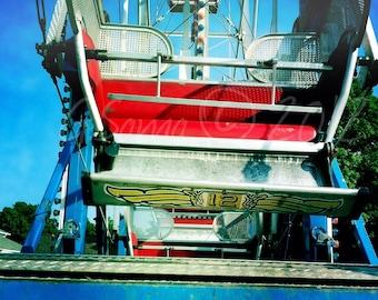 Ferris Wheel 10x10 inch Photograph