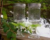 Pair of Redneck Wine Glasses