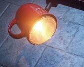 Coffee mug Track Light / Track head. Cup