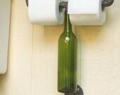 Wine bottle Toilet Paper Holder
