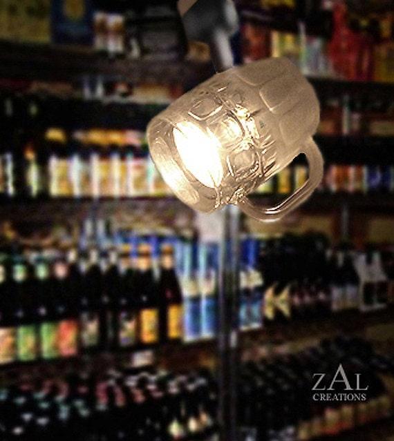 Track Light, Beer mug, Track head, Beer glass.