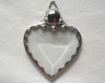 Wedding Favor Bridal Shower Favor Stained Glass Heart Beveled Glass Heart Heart Suncatcher Heart Weddings Mementos Handcrafted Made in USA