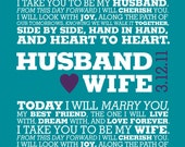 YOUR Custom Wedding Vows / Digital File Only