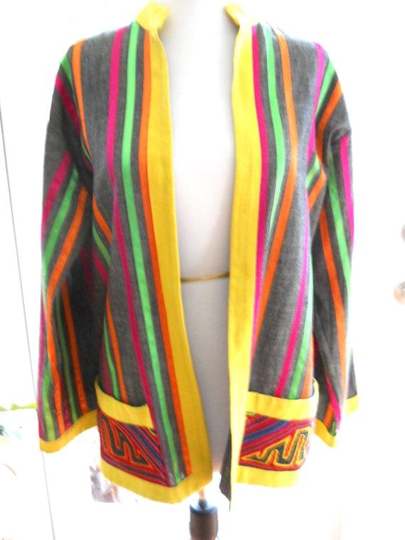 Vintage Mexican Jacket By Marti S Nuevo Laredo Mexico