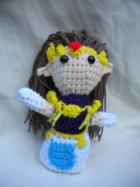Princess Zelda Amigurumi by Artchemy on Etsy