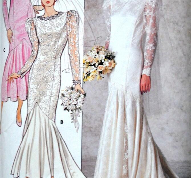 Wedding Dress Patterns To Sew Uk Image