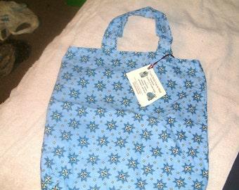 Snowflake Patchwork Print  - Tote Bag