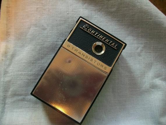 1960s Continental Transistor Radio