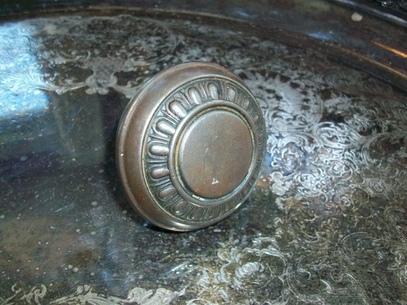 Antique Victorian Doorknob Architectural Salvage From a Farmhouse in North Dakota