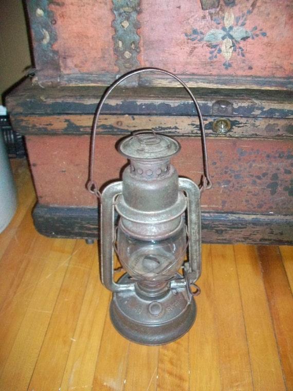 Antique Barn Lantern Embury Mfg No 160 Supreme Kerosene Lamp