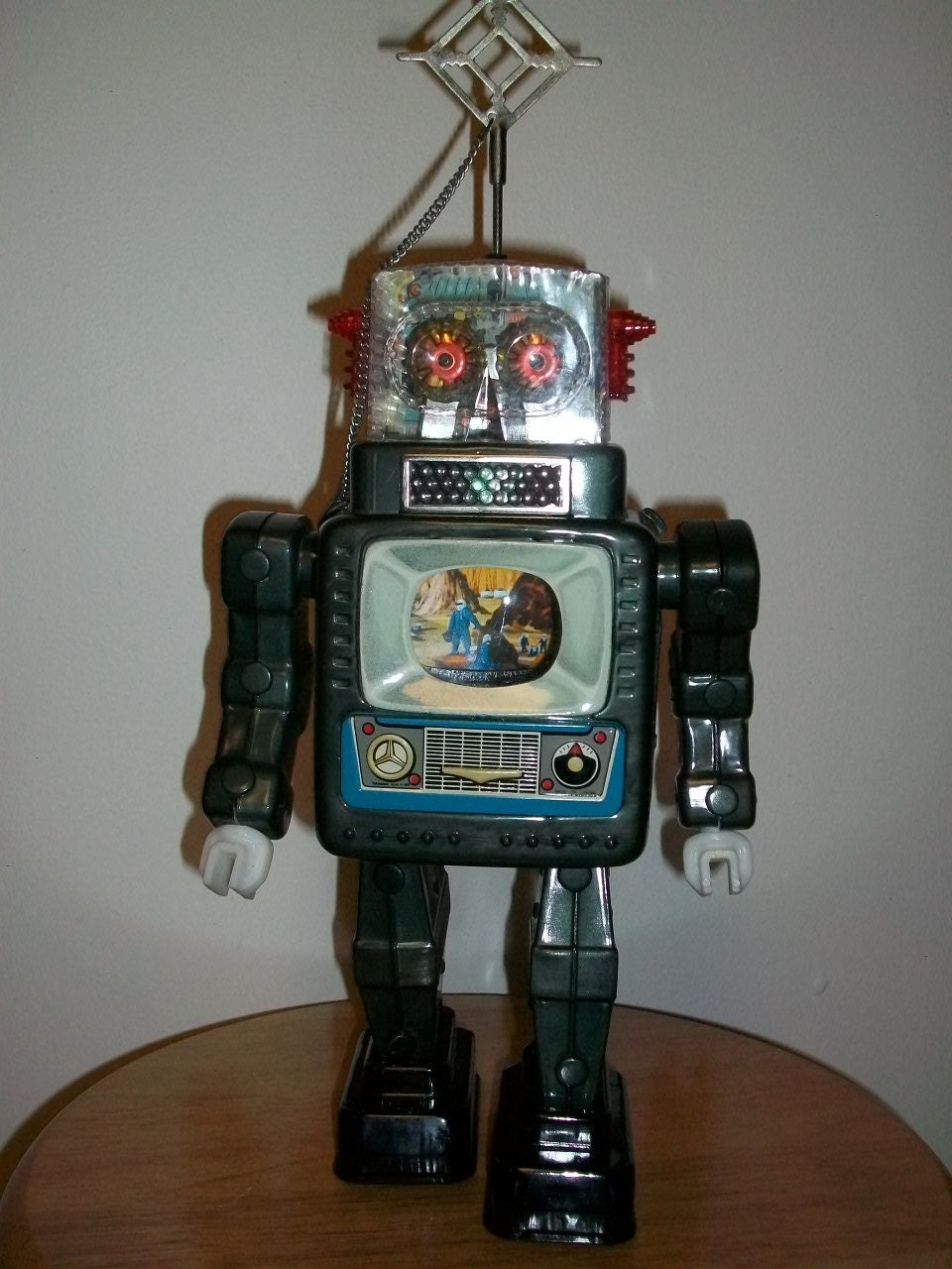 Reserved for Julius 1960s Toy Robot Alps Television Spaceman