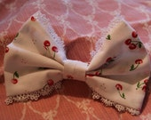 Cherries Jubliee Sweet Lolita Hair Bow