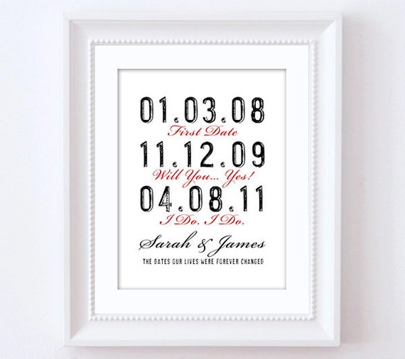 Personalised Wedding Gift Etsy : ... Print. Custom Wedding Gift, Wedding Shower Gift, Fiance Gift. on Etsy