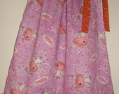 Angelina Ballerina Size 3 Pillowcase Dress