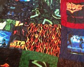 Star Wars Quilt Handmade Extra Long Twin Throw