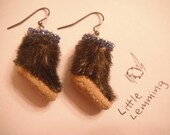 Seal Skin Earrings (small)