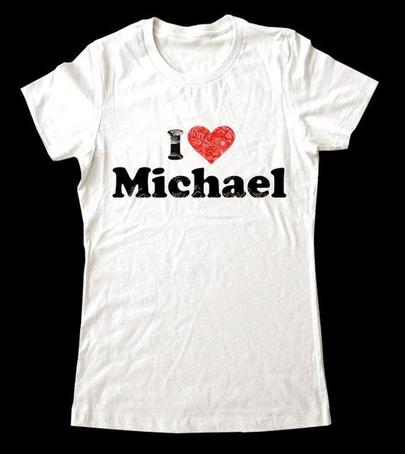 Custom I Love Shirt - Soft Cotton T Shirts for Women, Men/Unisex, Kids
