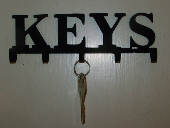 Keys Key Holder 5 Hooks Organizer Hook Metal