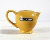 LITTLE Vintage FRENCH Ricard bistrot  PITCHER