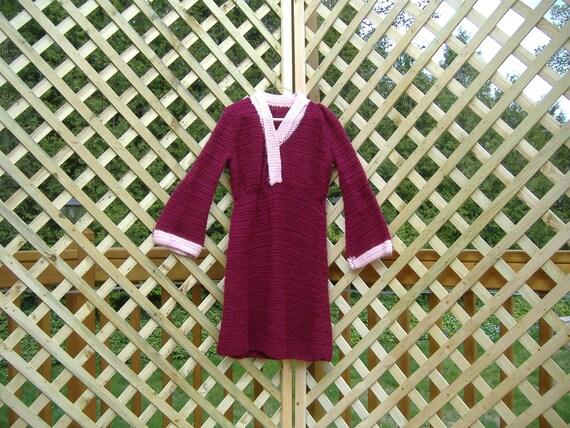 Surplice Dress Crochet Pattern