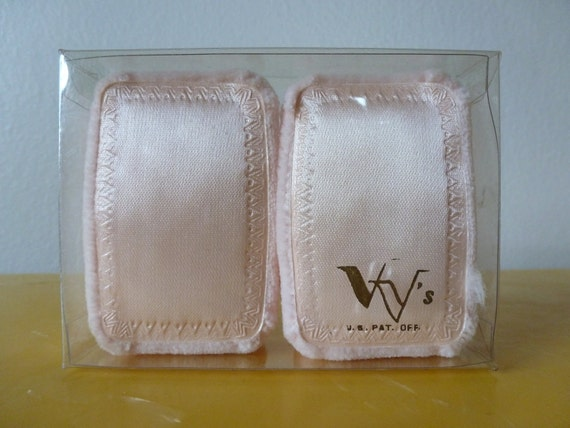 50's Powder Puffs for Makeup in their Original Package